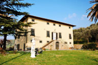 holiday villa in Lucca, Tuscany